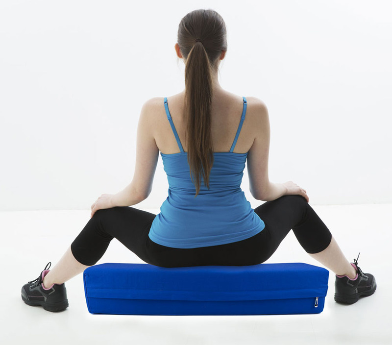Yoga Bolster Meditation: Large 26-inch Pink Yoga Bolster And Meditation Pillow