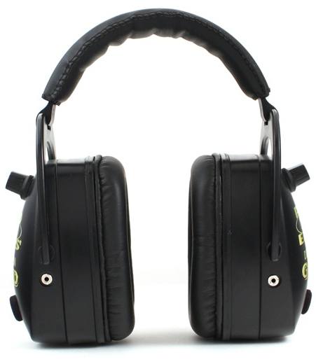 Altus Pro Ears Pro Mag Gold NRR 33: Electronic Ear Muffs, Black