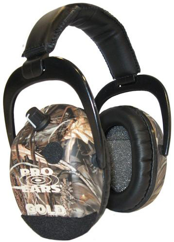 Altus Pro Ears Stalker Gold NRR 25: Electronic Ear Muffs, RealTree Advantage Max 4 Camo
