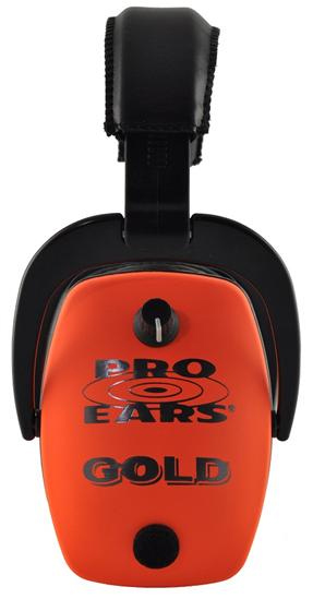 Altus Pro Ears Pro Mag Gold NRR 33: Electronic Ear Muffs, Orange