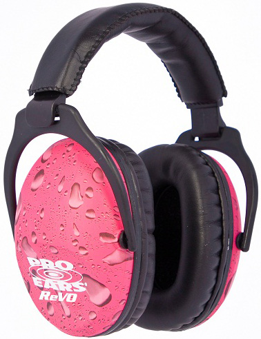 Altus Pro Ears Revo 26 Youth: Passive Ear Muffs, Pink Rain