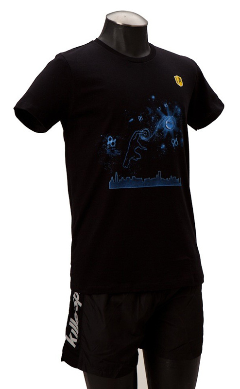 Killerspin Man in the Stars Shirt: Extra Extra Large