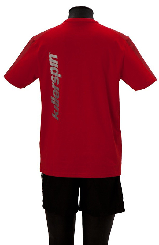 Killerspin Grate Shirt: Red/Grey, Small