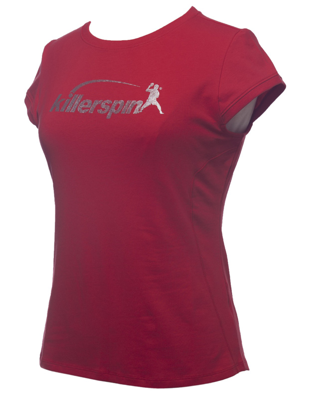 Killerspin Steely Girl Shirt: Red, Large