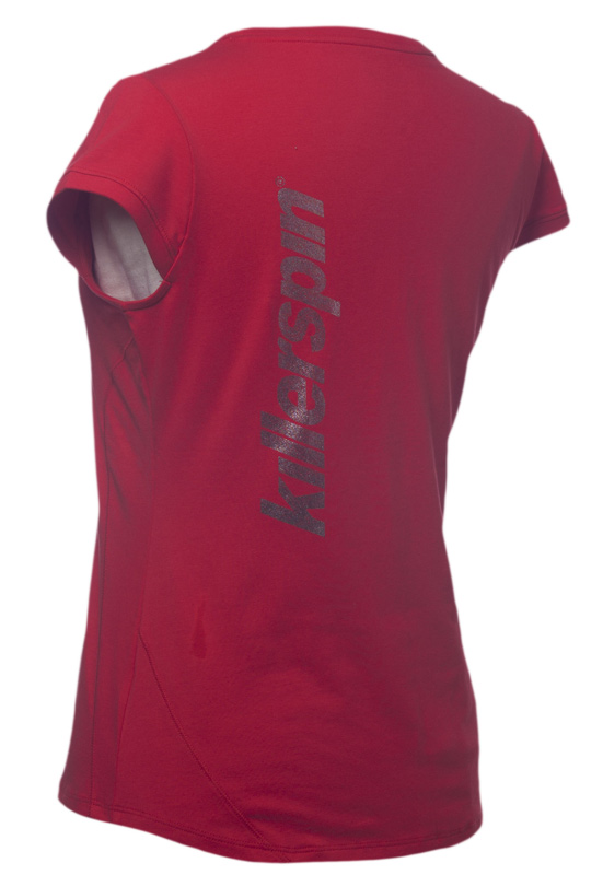 Killerspin Steely Girl Shirt: Red, Small