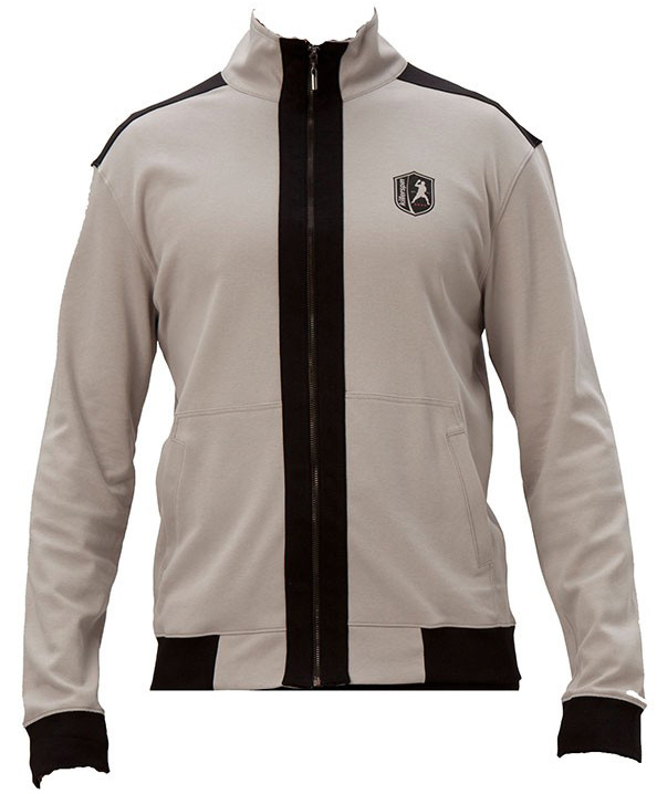Killerspin BedRLook Jacket: Grey/Black, Extra Large