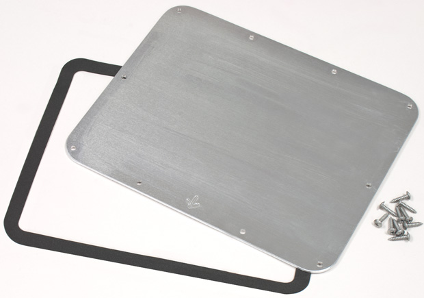 Plasticase Bezel Kits for 905 Nanuk Case: Aluminium