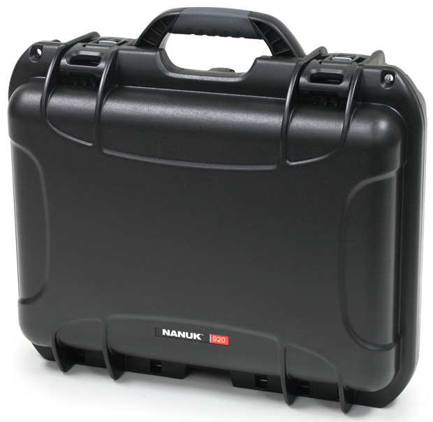 Plasticase Nanuk 920 Case with Padded Divider: Black