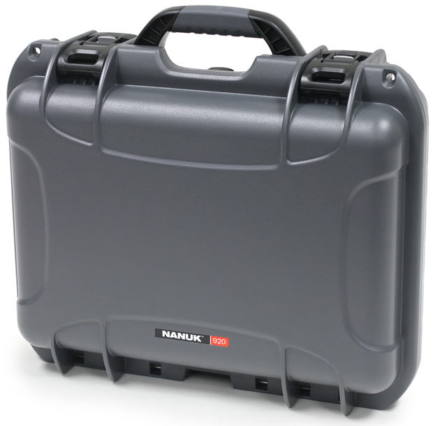 Plasticase Nanuk 920 Case with Cubed Foam: Graphite