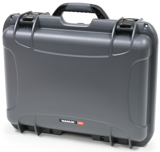 Plasticase Nanuk 925 Case with Cubed Foam: Graphite