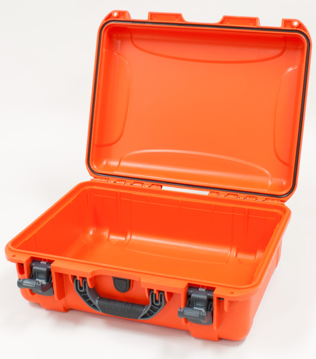 Plasticase Nanuk 930 Case: Orange