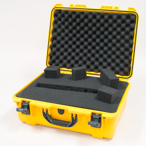 Plasticase Nanuk 940 Case with Cubed Foam: Yellow