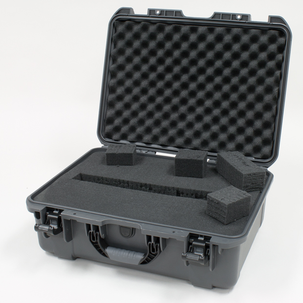Plasticase Nanuk 940 Case with Cubed Foam: Graphite