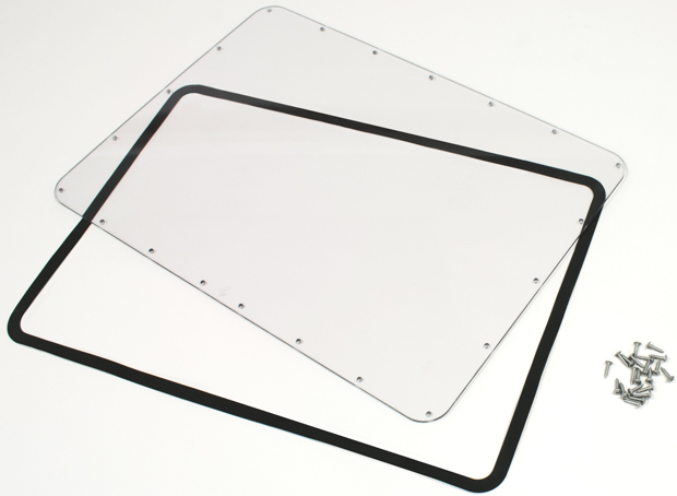 Plasticase Nanuk Case Waterproof Panel Kit for the 940: Lexan