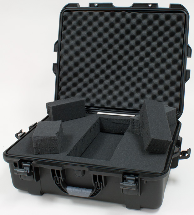 Plasticase Nanuk 945 Case with Cubed Foam: Black