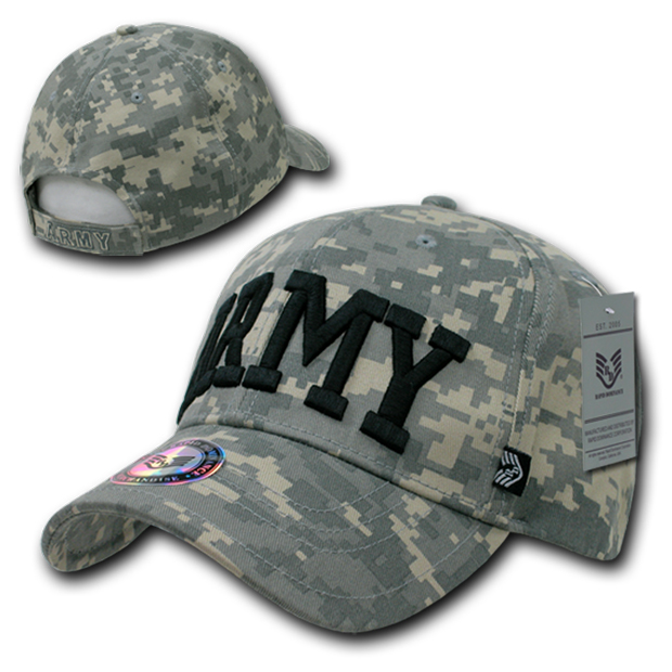 Rapid Dominance 942 ACU Universal Digital Branch Caps: Army