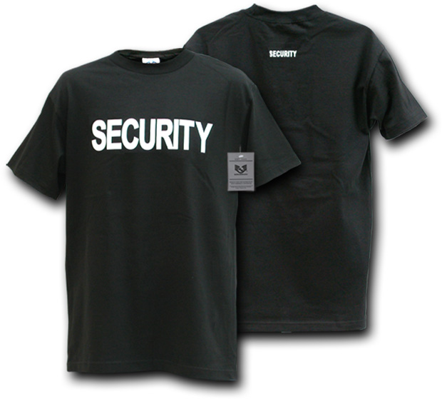 Rapid Dominance J25 Law Enforcement T-Shirts Tees: Black, Security