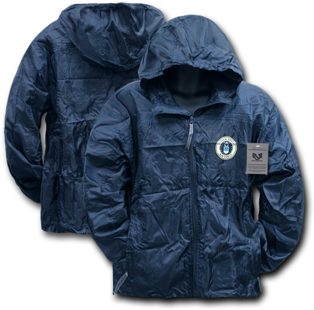 Rapid Dominance R37 Solid Military/ Law Windbreaker: Navy, Air Force