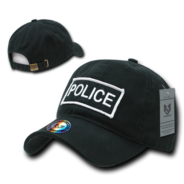 Rapid Dominance R91 Raid Caps: Black, Police
