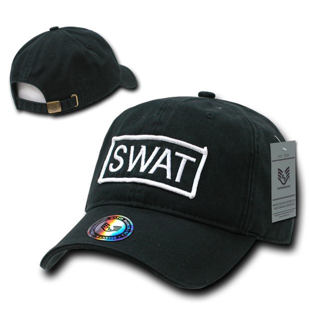 Rapid Dominance R91 Raid Caps: Black, Swat