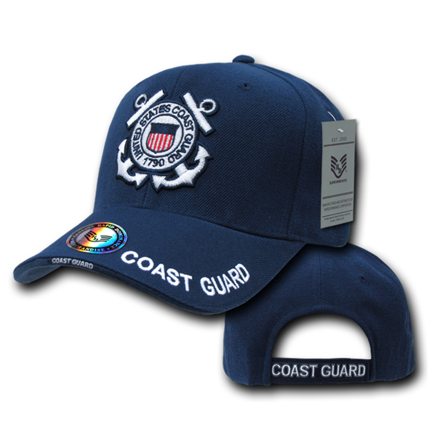 Rapid Dominance S001 The Legend Military Branch Cap: Navy, Coast Gaurd