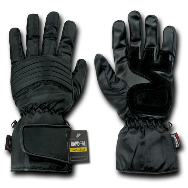 Rapid Dominance T03 Everest Patrol Winter Gloves: Black