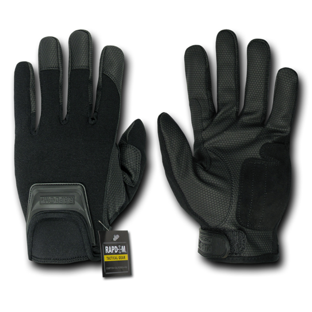 Rapid Dominance T06 Short Cuff Tactical Gloves: Black