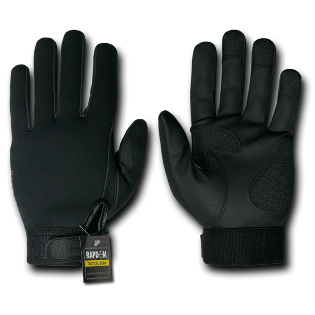 Rapid Dominance T08 All Weather Shooting Duty Gloves: Black