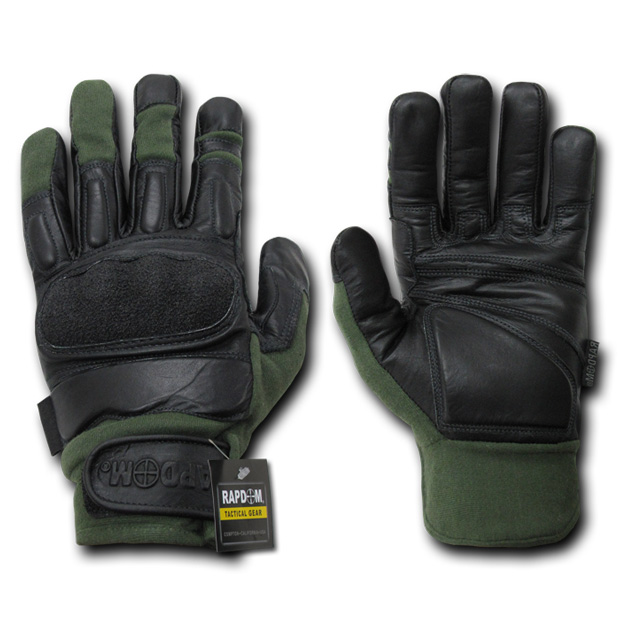 Rapid Dominance T12 Kevlar Tactical Gloves: Sage