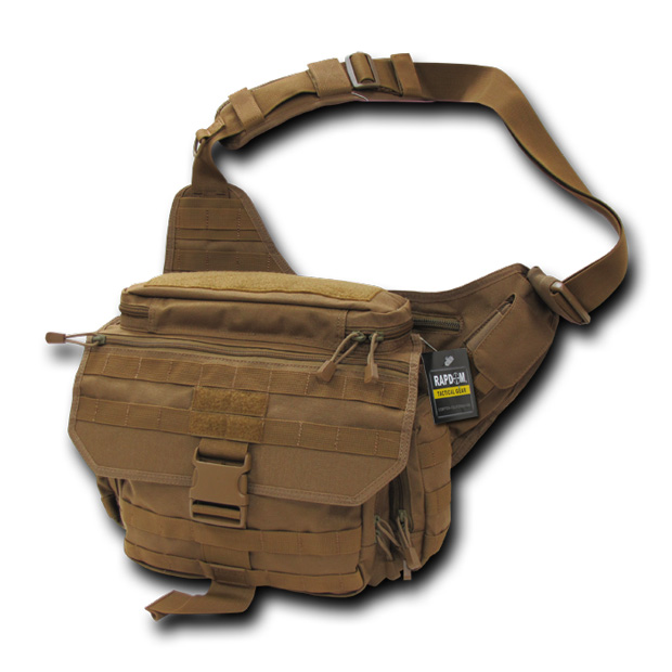 Rapid Dominance T311 Tactical Messenger Bag: Coyote