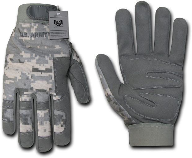 Rapid Dominance U04 Digital Camo Gloves: ACU, Army