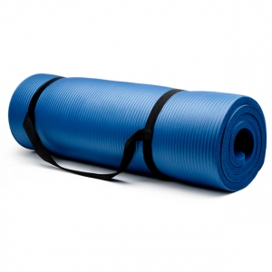 Extra Thick (3/4in) Yoga Mat - Blue