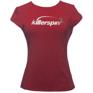 Killerspin Steely Girl Shirt: Red, Extra Large