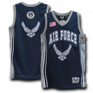 Rapid Dominance R14 Military Basketball Jersey: Navy, Air Force