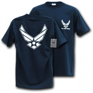 Rapid Dominance S25 Classic Military T-Shirts: Wing, Air Force