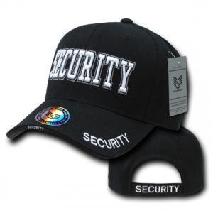 Rapid Dominance JW Embroidered Delux Law Enforcement Caps: Black, Security