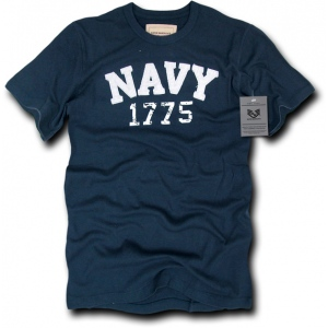 Rapid Dominance R51 Applique Military T-Shirts Tees : Navy, Navy