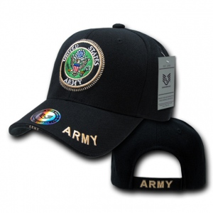 Rapid Dominance S001 The Legend Military Branch Cap: Black, Army