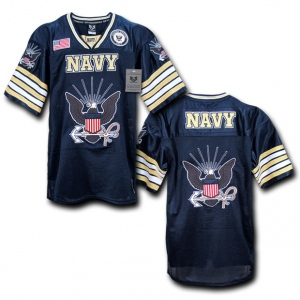 Rapid Dominance R11 Military Football Jersey: Navy, Navy