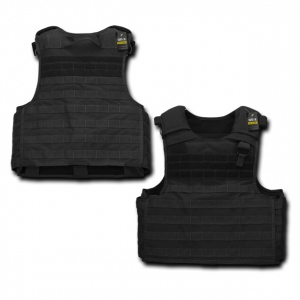 Rapid Dominance T202 Tactical Plate Carrier: Black