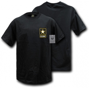 Rapid Dominance S26 Basic Military T-Shirts: Black, Army