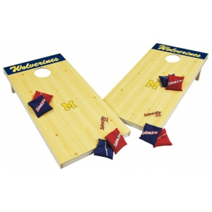 Wild Sports University of Michigan Wolverines Tailgate Toss XL: Platinum Edition