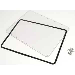 Plasticase Waterproof Panel Kit for 940 Nanuk Case: Lexan