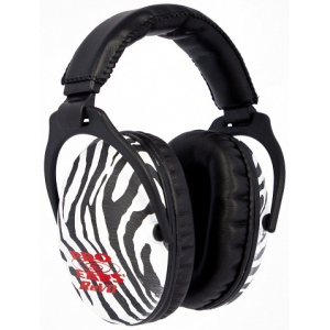 Altus Pro Ears Revo 26 Youth: Passive Ear Muffs, Zebra Vert