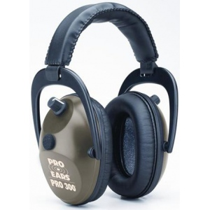 Altus Pro Ears Pro 300 NRR 26: Electronic Ear Muffs, Green