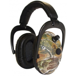 Altus Pro Ears Predator Gold NRR 26: Electronic Ear Muffs, Realtree APG