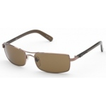 BSG Hi-4 Bronze Metal Frame: Brown Lens