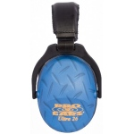 Altus Pro Ears Revo 26 Youth: Passive Ear Muffs, Blue Diamond Plate