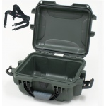 Plasticase Nanuk 905 Case with Shoulder Strap: Olive