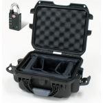 Plasticase Nanuk 905 Case with Padded Divider and Padlock: Black